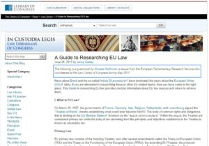Example of a Guest Post on a Law Blog